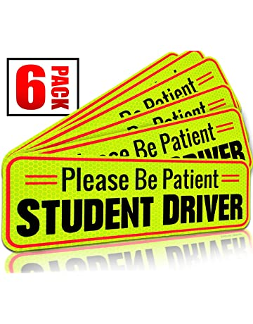 294aae9a Student Driver Magnet Car Signs for The Novice or Beginner. Better Than A  Decal or