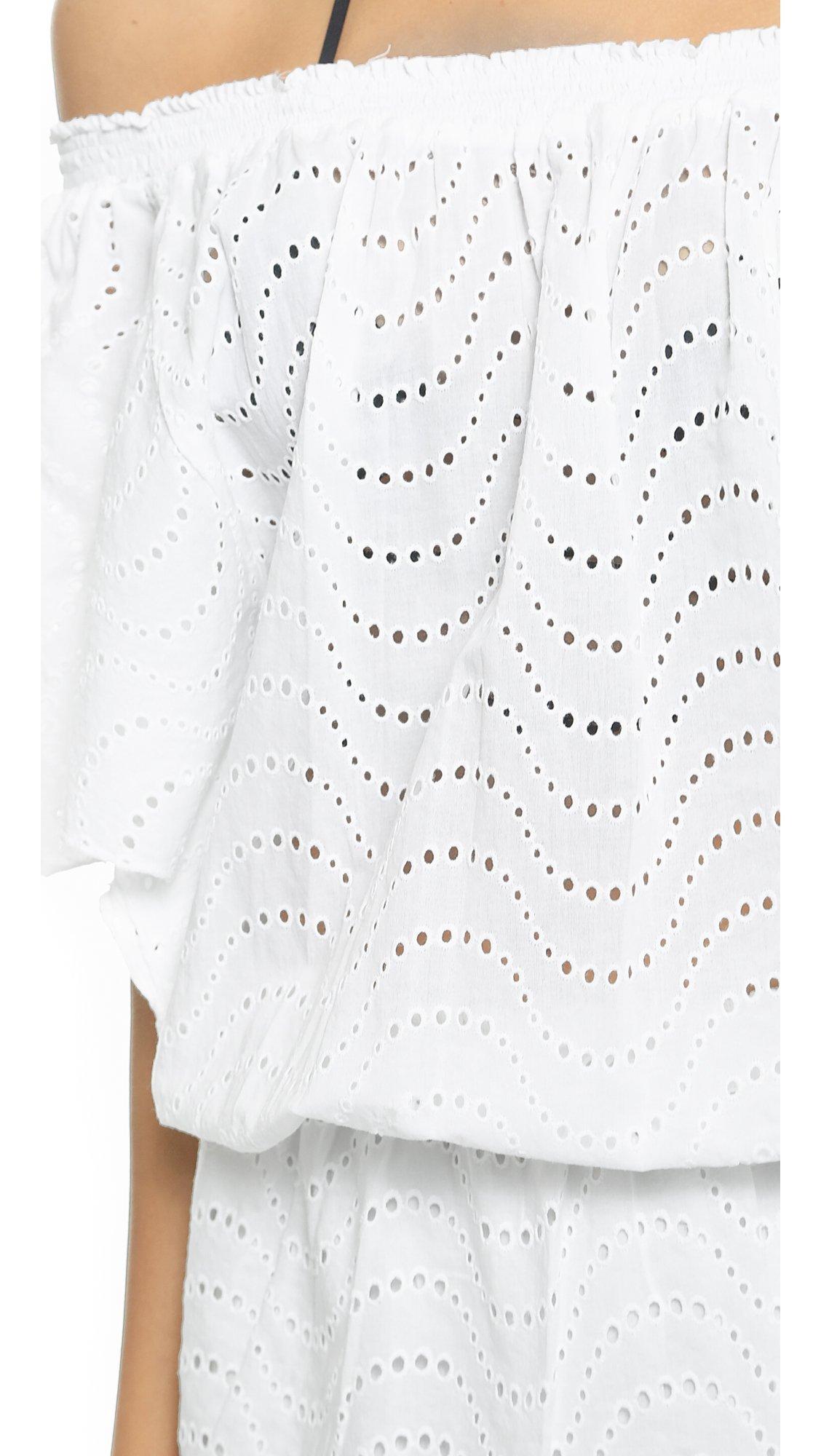 Melissa Odabash Women's Michea Cover Up Dress, White, Small by Melissa Odabash (Image #5)
