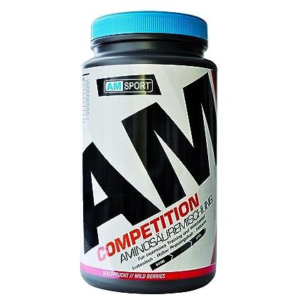 AMSPORT Competition Aminosäurenmischung - Mezcla compleja con aminoácidos (frutos rojos)