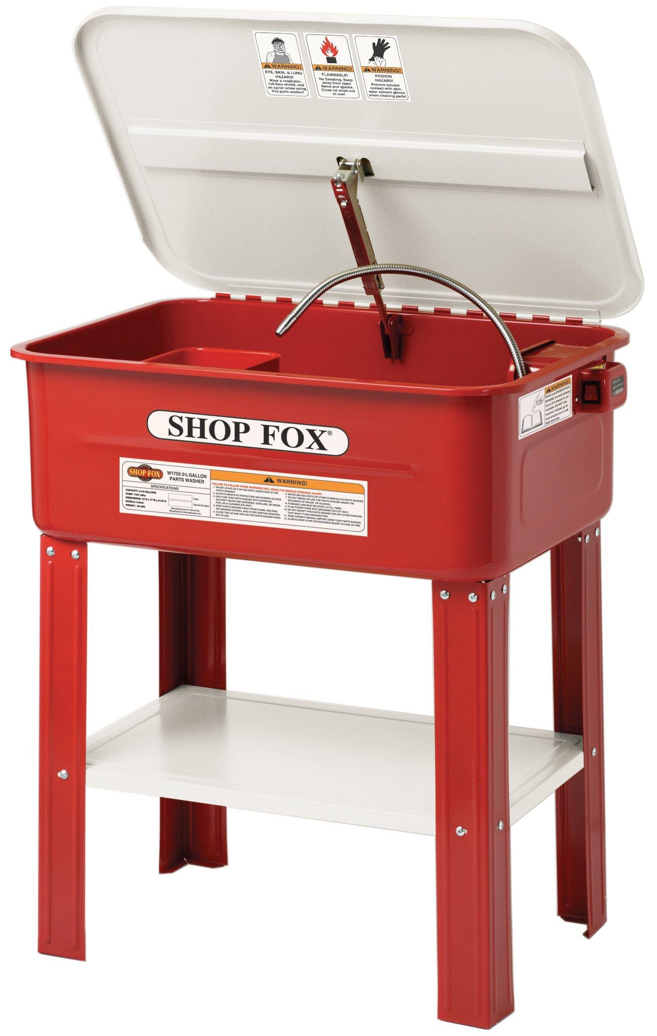 Shop Fox W1760 20 Gallon Parts Washer