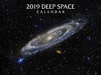 2019 space earth deluxe wall calendar