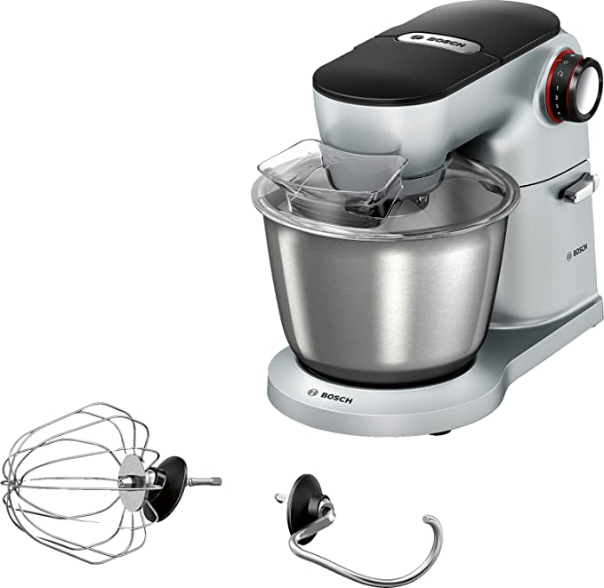 Bosch Préparation culinario – Kitchen Machine, color plateado, 1200: Amazon.es: Hogar