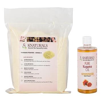 Buy Knaturals All Natural Safe Hair Removal Powder Vegan