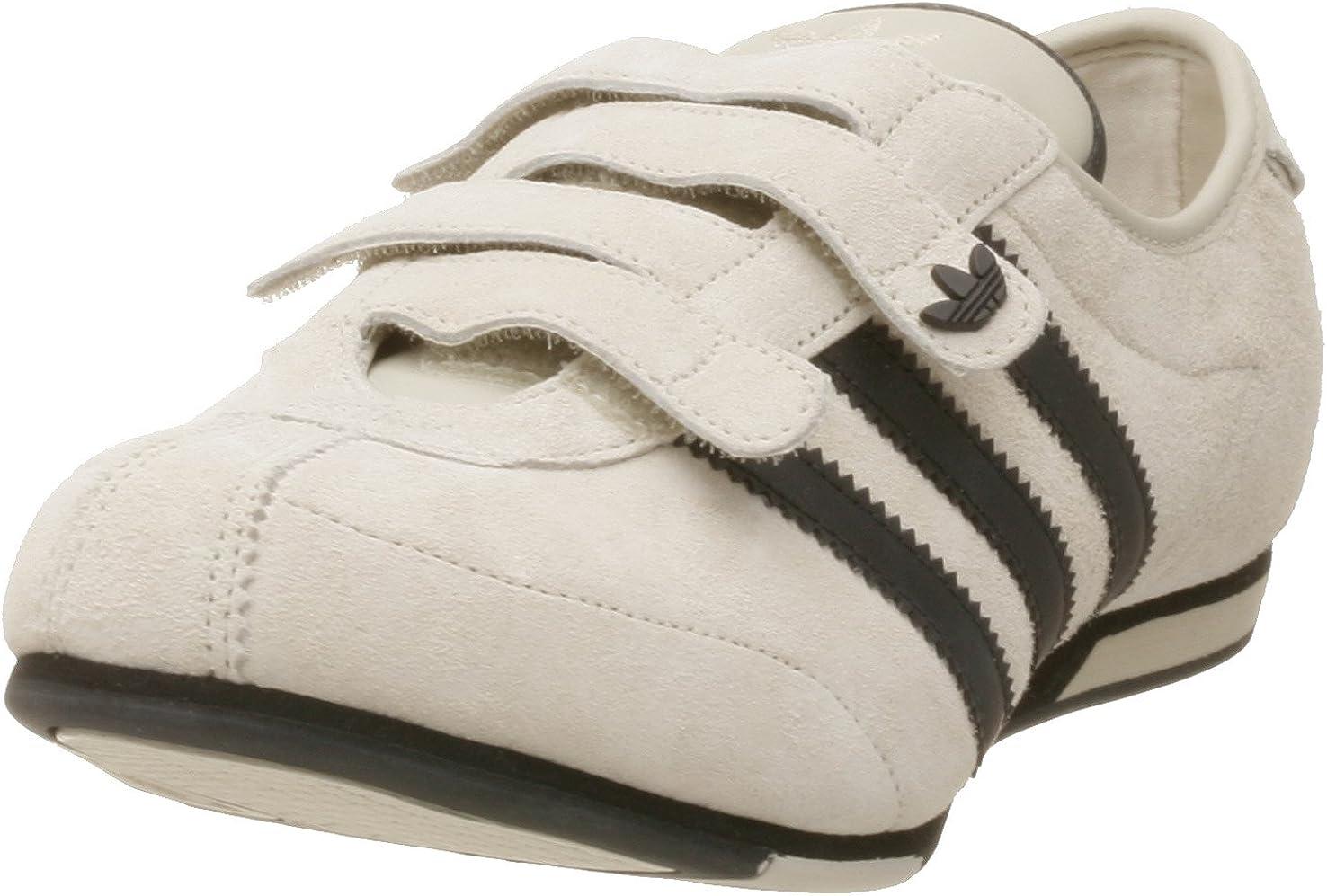 Escribir Dislocación café  adidas Women's Okapi 2 Velcro Leather Running Shoe, Dark Bone/Black, 8.5 M:  Amazon.co.uk: Shoes & Bags