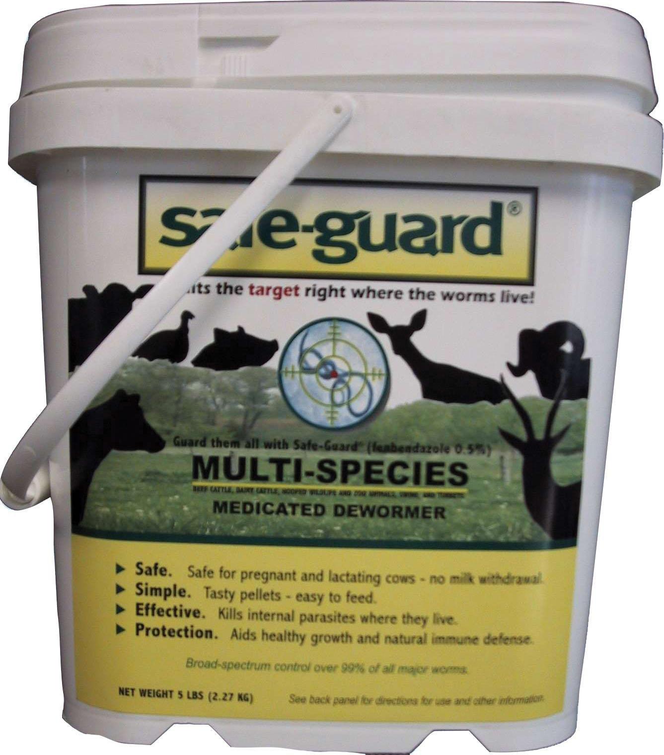 MERCK ANIMAL HEALTH MFG Safe-Guard 0.50% Multi-Species Dewormer 5 POUND