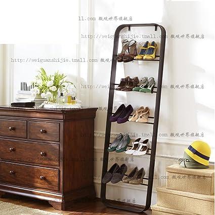 Estante del zapato del hierro multi-zapatero estante del almacenaje del estante de zapato a prueba ...