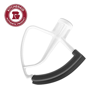 KitchenAid KFE5T Tilt Head Flex Edge Beater, 4.5/5 Quart, White