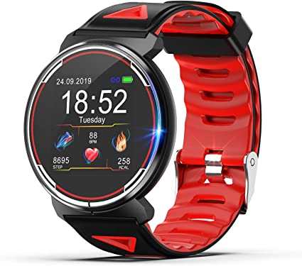 Smart Watch for Android iOS Phones 2019 Version, TZAMCW Fitness Tracker Watch Activity with Heart Rate Monitor Sleep Tracker, Activity Smartwatch ...