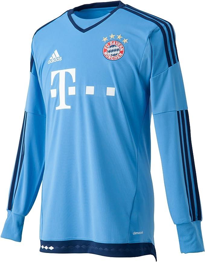 adidas Herren Langarm Torwart heimtrikot FC Bayern München Replica