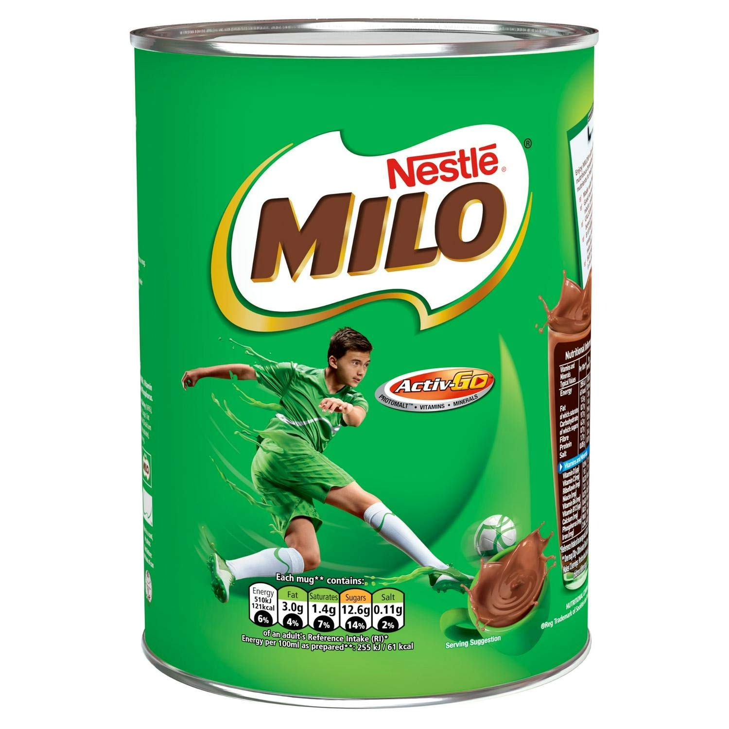 Original Nestle Milo Activ-Go Drinking Chocolate Imported From The UK, Nestle Milo Chocolate Malt Beverage, The Best Of Original Milo Drinking Sports Chocolate Drink
