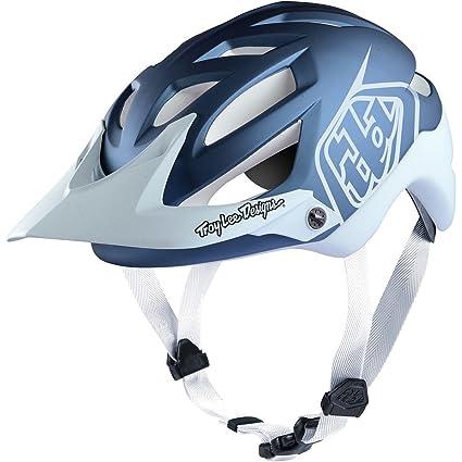 Troy Lee Designs A1 Mips Classic Fahrrad Helm Rot/Silber Weitere Wintersportarten