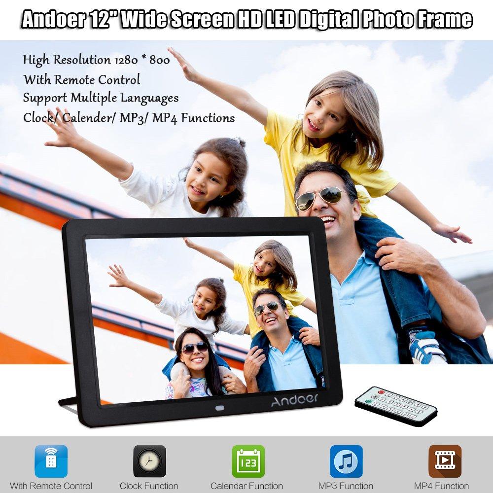 Amazon andoer digital picture frame 12inchblack camera amazon andoer digital picture frame 12inchblack camera photo jeuxipadfo Image collections