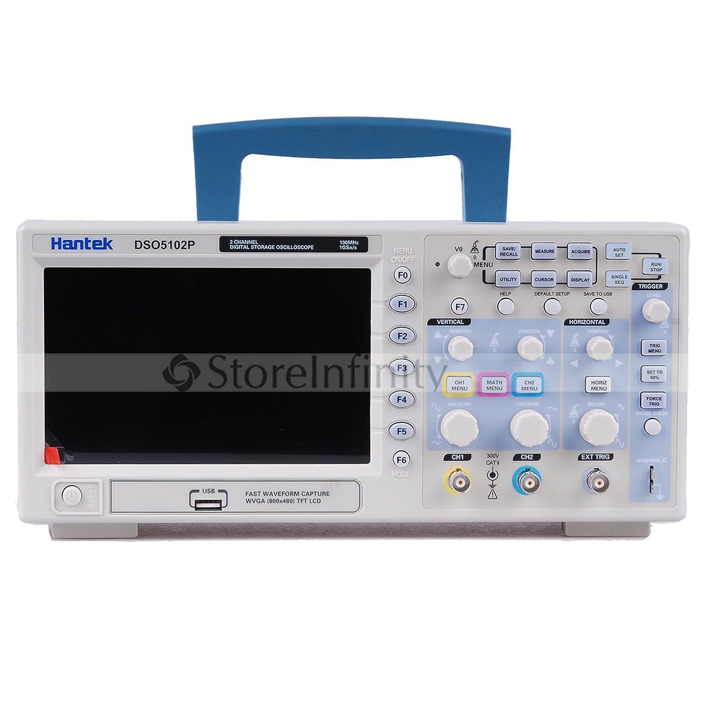 Hantek DSO5102P  デジタルオシロスコープ  100MHz 1Gs 2CH 7