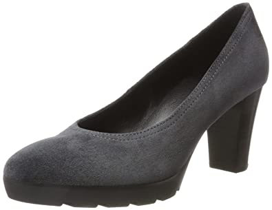 4-11 6202 6600, Zapatos de Tacón para Mujer, Gris (Darkgrey), 39 EU Högl