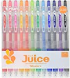 Pilot Juice Gel Ink Ballpoint Pen, 0.38 mm, 12 Color Set (LJU120UF-12C)