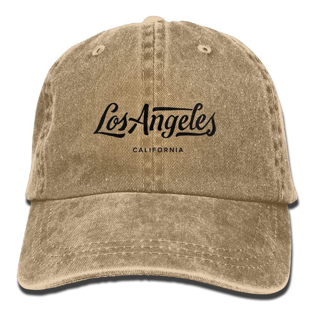 Trableade Los Angeles California Unisex Sport Adjustable Structured Baseball Cowboy Hat