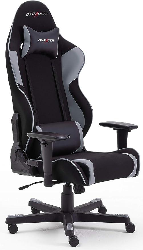 Robas Lund Ohrw86ng Dx Racer R2 Gaming Büro Schreibtischstuhl Mit Wippfunktion Gamer Stuhl Höhenverstellbarer Drehstuhl Pc Stuhl Ergonomischer