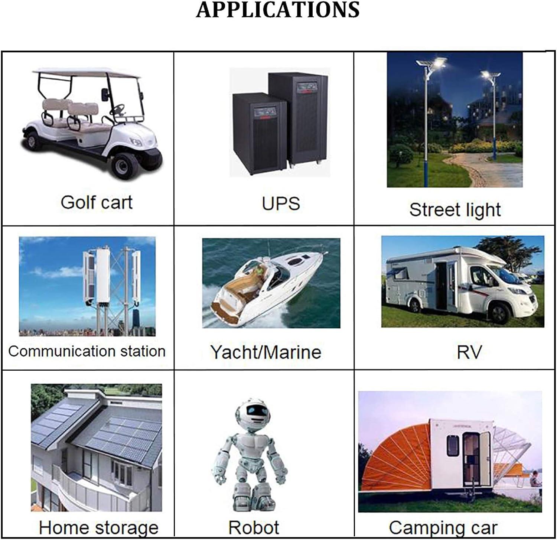 BMS Protection Board Rusia Libre De Impuestos GJZhuan Nuevo 4PCS 3.2V 500Ah Lifepo4 Battery Pack 12V500AH Cell Litio Hierro Fosfato Solar UE EE UU