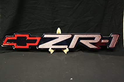 Amazon com: 1990-1995 C4 ZR1 Corvette Fender Emblem Large