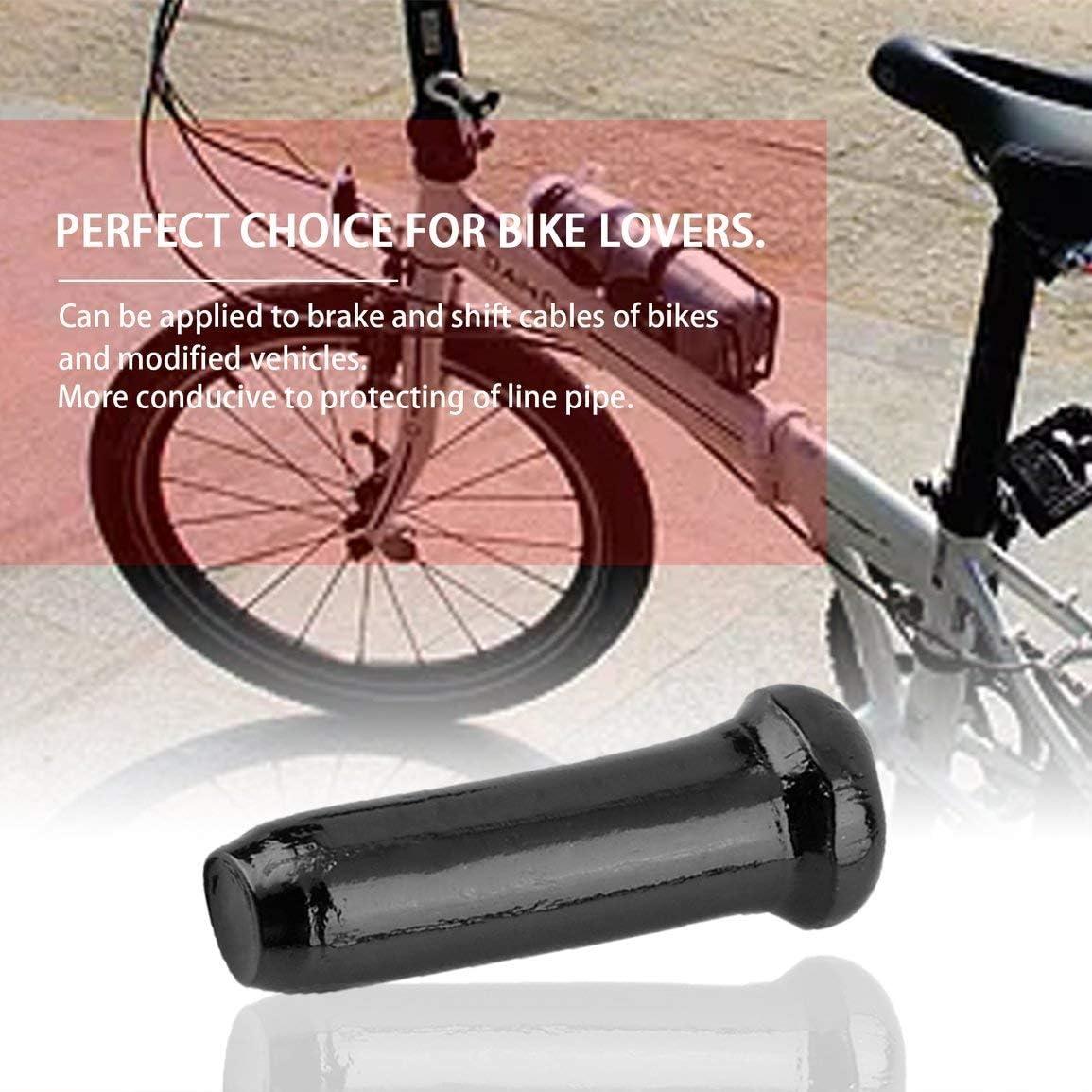 Durable Alliage Daluminium V/élo Frein Ligne Cap 30 PCS V/élo D/érailleur C/âble Embout Universel V/élo Accessoires