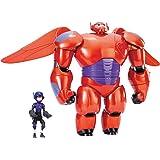 ベイマックス DXフライングベイマックス ヒロ セット Deluxe Flying Baymax Hiro Action Figures Big Hero 6 【並行輸入品】