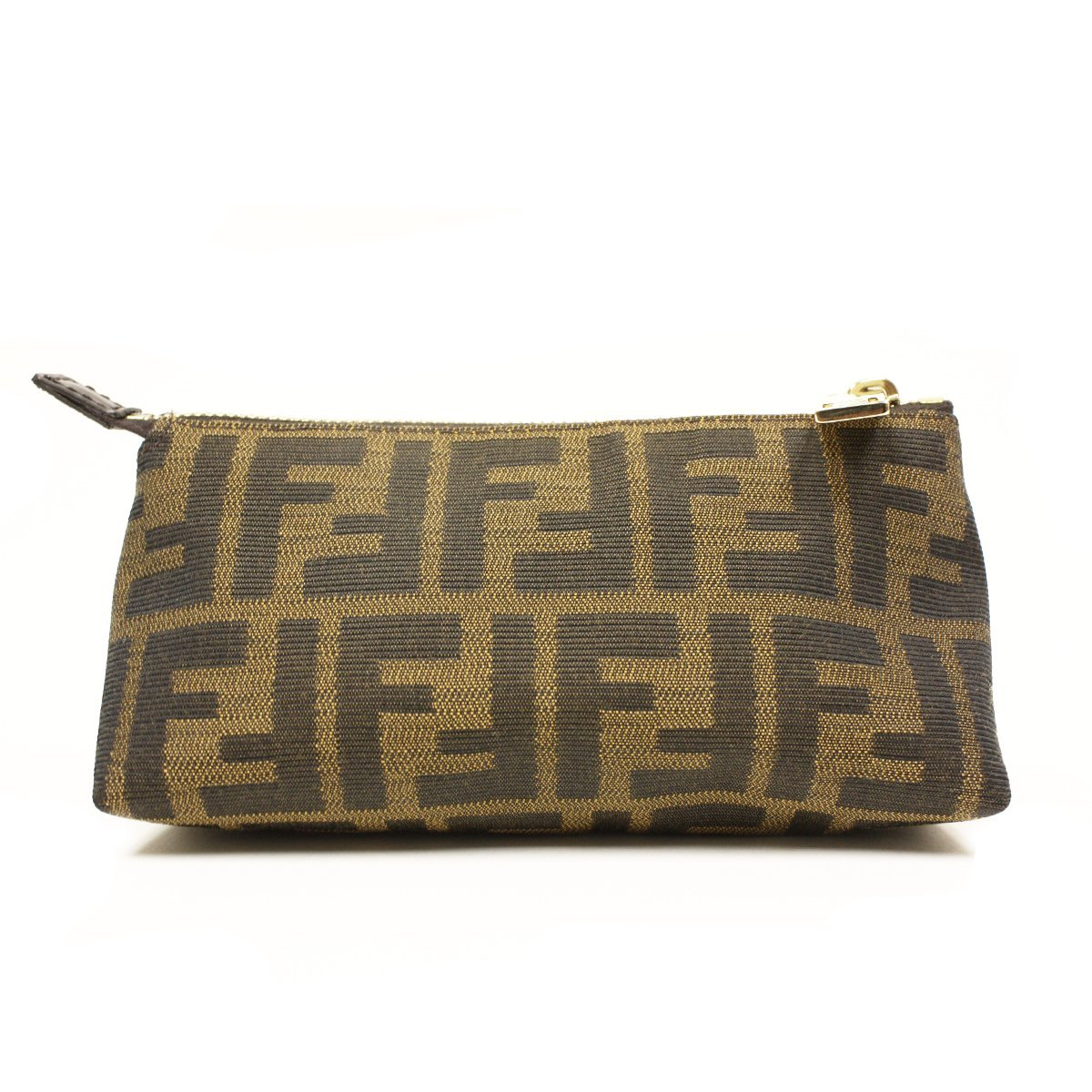 869642fe86 Fendi Signature Brown Cosmetic Bag Pouch - Large  Amazon.ca  Luggage   Bags