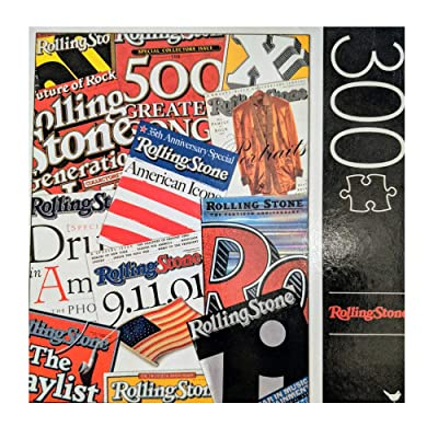 Rolling Stone 300 Piece Puzzle: Toys & Games