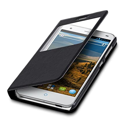 Amazon.com: kwmobile Práctica y Chic Flip Cover – Funda con ...