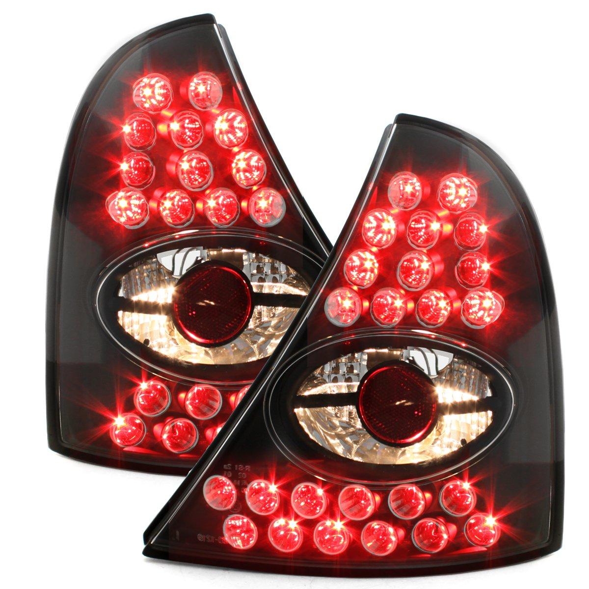 Nero Dectane RR01LLB colore Fanali posteriori a LED
