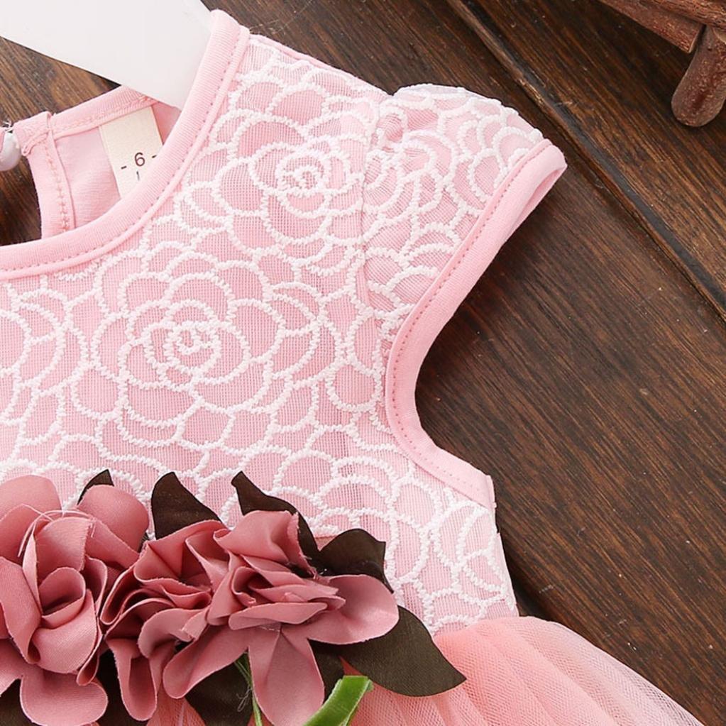 63ac6d1113b7 Vestidos bebé niña ❤ Amlaiworld Vestido floral de verano para niñas  pequeñas Vestido de fiesta