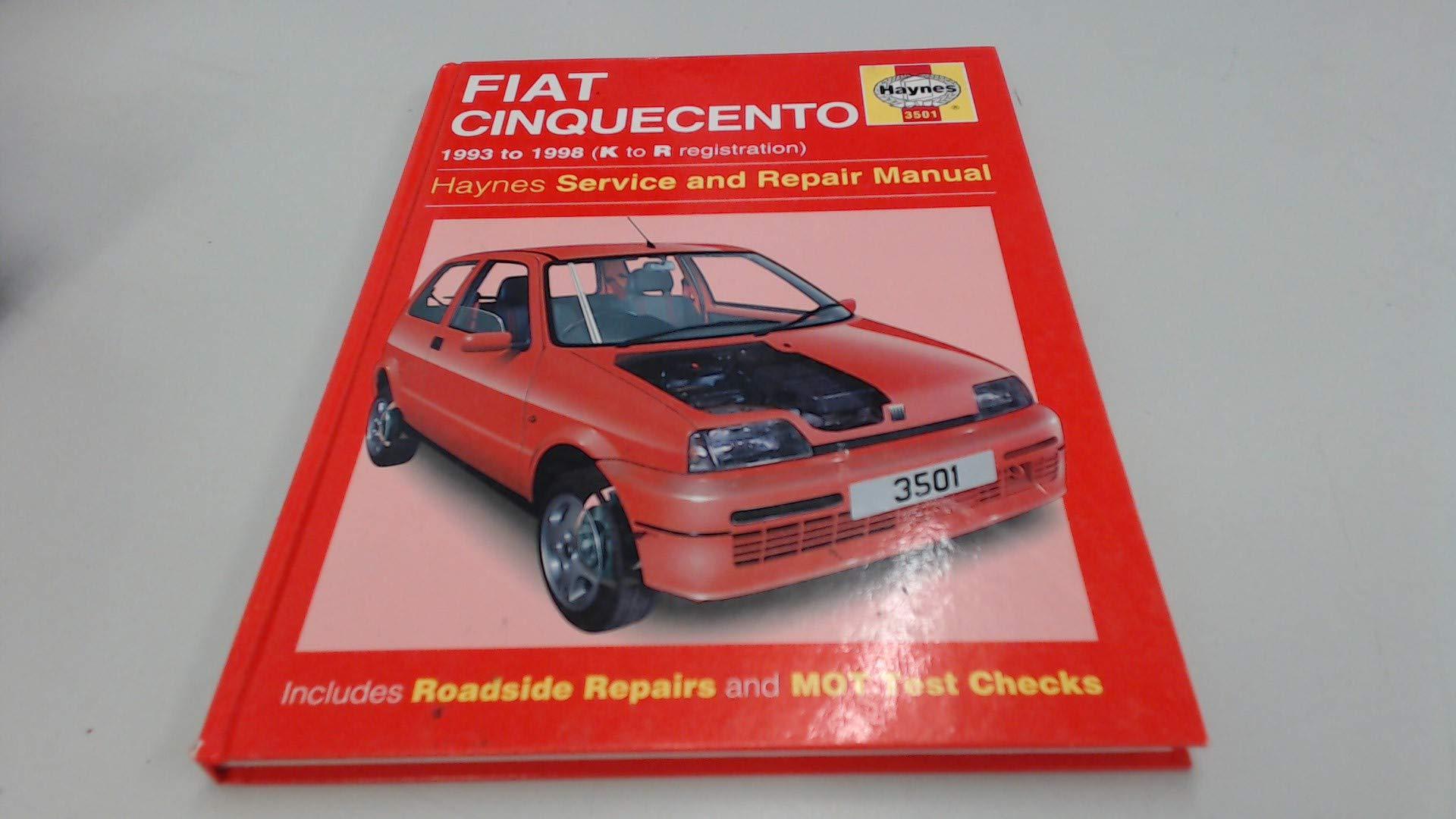 fiat cinquecento service and repair manual haynes service and rh amazon co  uk Old Fiat 500 Fiat Seicento