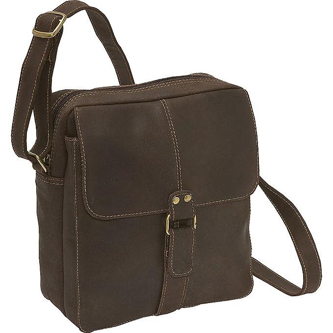 Amazon.com: Le Donne de piel envejecido bolsa deportiva para ...