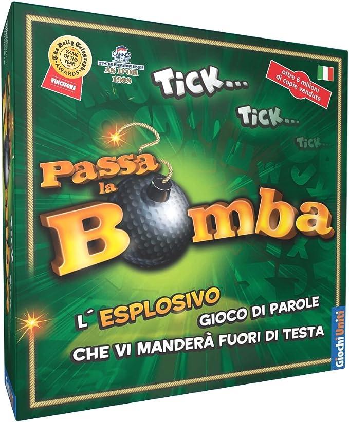 Giochi Uniti Passa la Bomba - Juego de Mesa (en Italiano) [Importado de Italia]: aa.vv.: Amazon.es: Juguetes y juegos