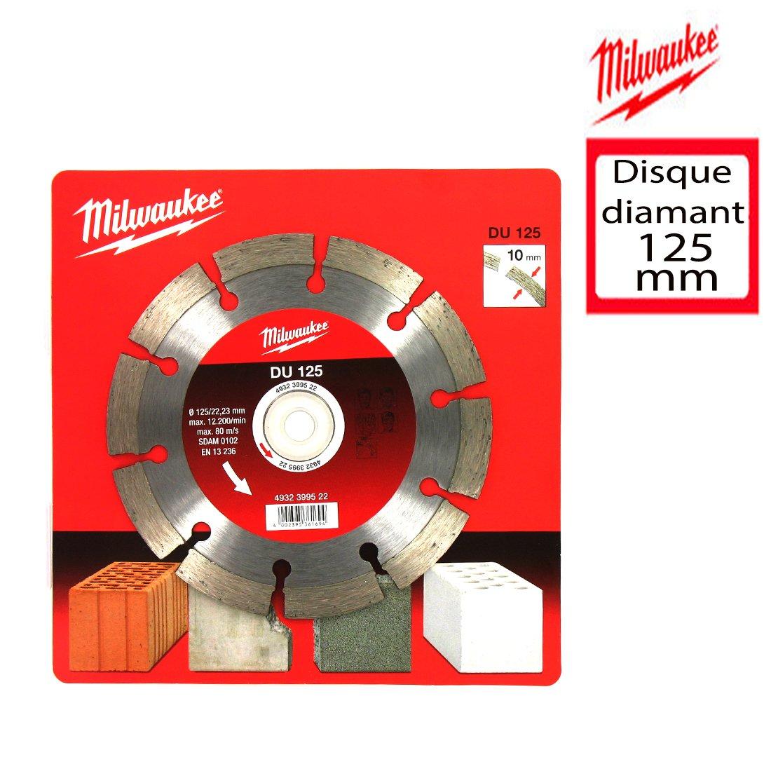 Milwaukee Disco diamamnte 125 mm 4321080-RT-XM 305U