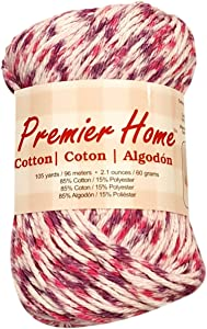 Premier Yarns Home Cotton Yarn - Multi-fruity Speckle