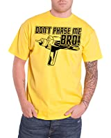 Star Trek T Shirt Dont Phase Me Bro Official Mens Yellow