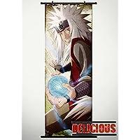 Naruto Home Decor Japanese Anime Cosplay Wall Scroll Poster Jiraiya 17.7 X 49.2 inches-P104489001