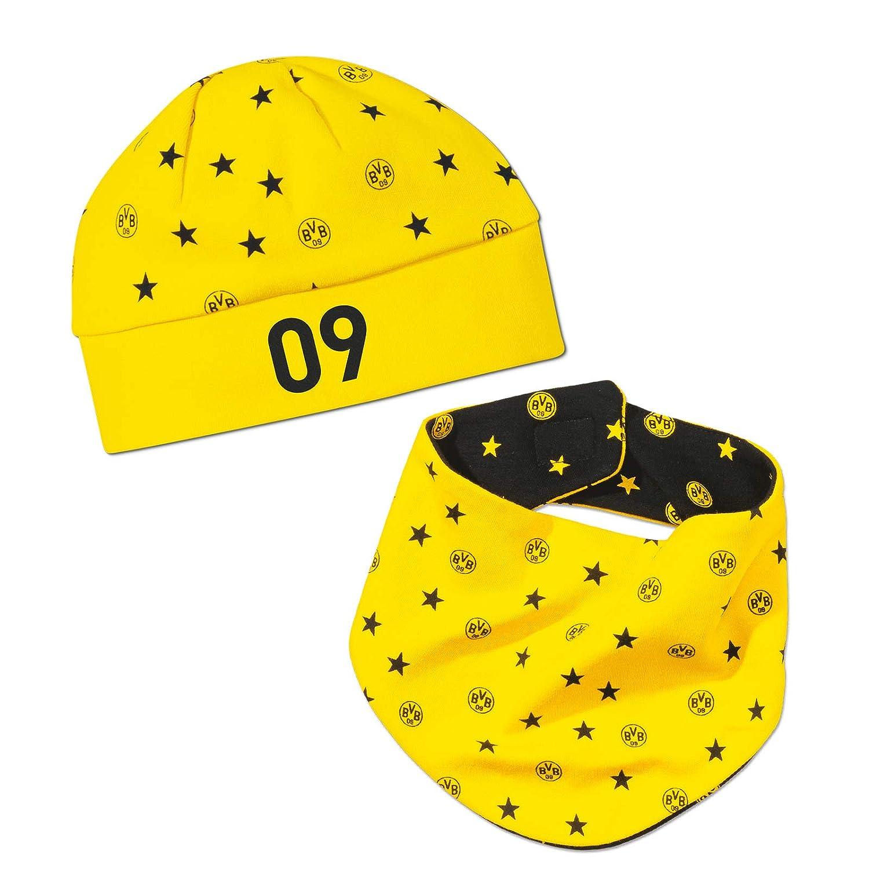 Borussia Dortmund BVB-Babyset Mütze und Halstuch (schwarz-gelb) 18260818