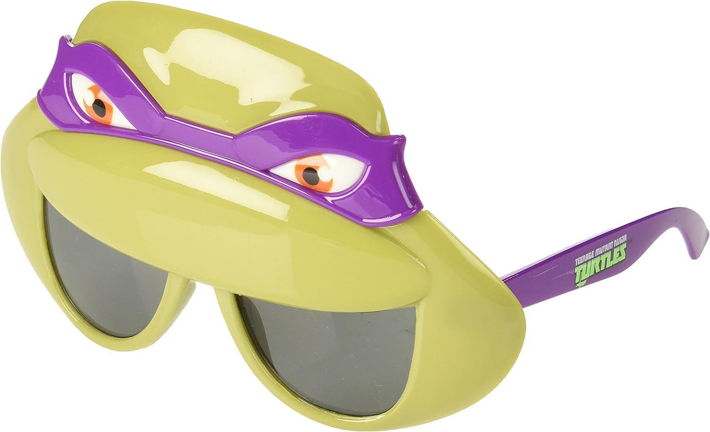 Costume Sunglasses TMNT Purple Mask Sun-Staches Party Favors UV400