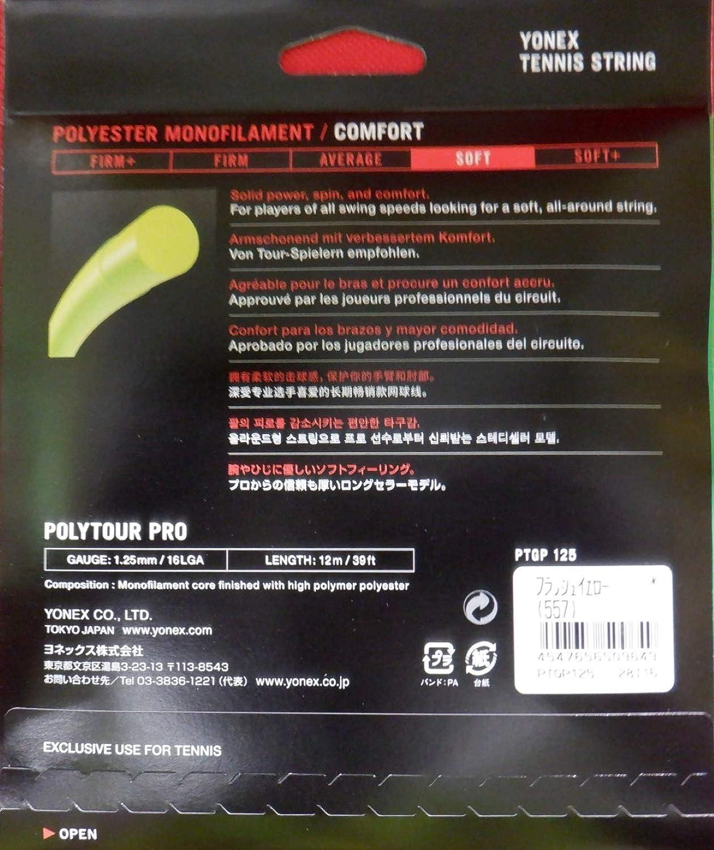 YONEX Cordage Polytour Pro 125