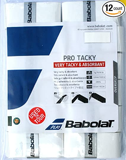 Babolat Pro Tour Over Grip 30/Unidades Color Blanco