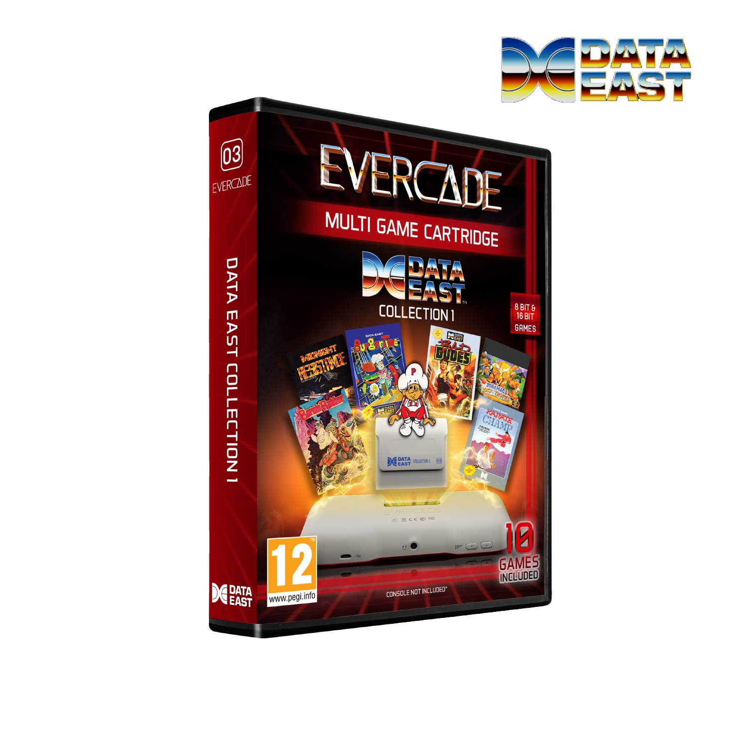 Evercade Dataeast Cartridge Collection 1 - Electronic Games
