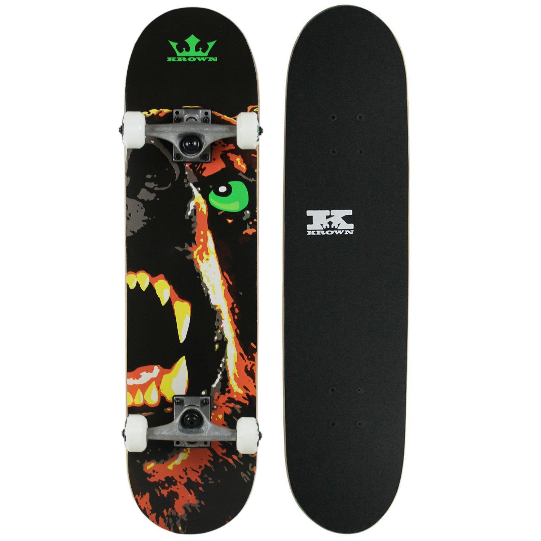 Krown KRRC-70 Rookie Skateboard, Bear by Krown