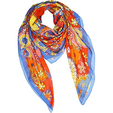 Moschino - Foulard - Femme multicolore multicolore Taille unique ... 563d63cf4c6c