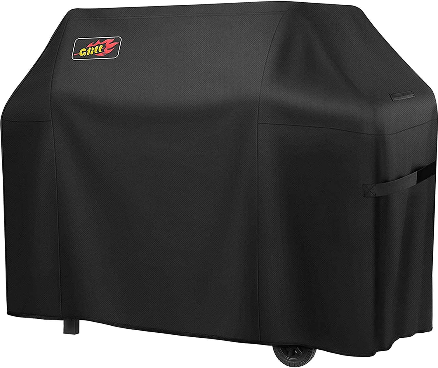 Zovoty BBQ Grill Cover(58-Inch), Heavy Duty Waterproof 600D Oxford Gas Grill Cover, Weather & Fade Resistant 3-4 Burner Barbecue Cover Fits for Weber Char-Broil Nexgrill Brinkmann etc(Bag Included): Garden & Outdoor