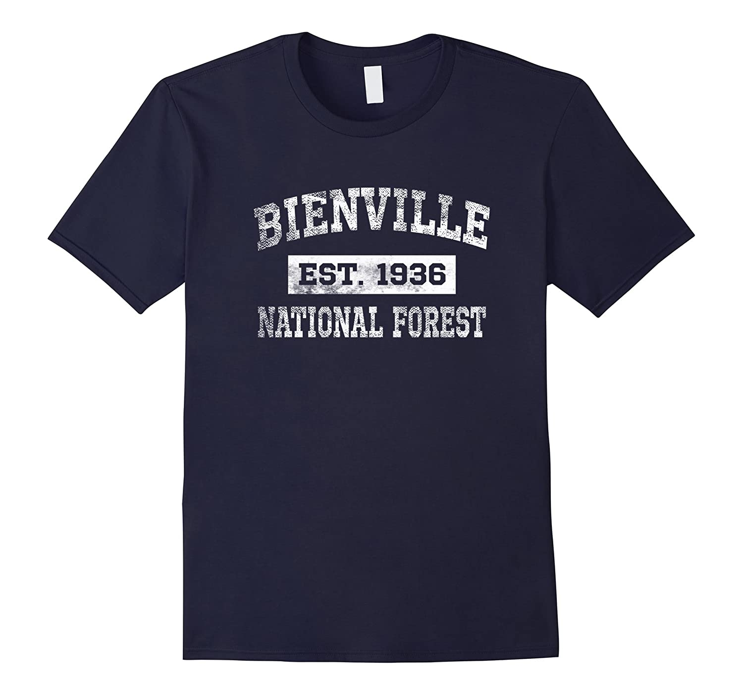 Bienville National Forest T Shirt Est 1936 Distressed-TH