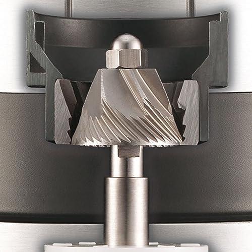 Espressomühlen für Siebträgermaschinen: Kegelmahlwerk der Graef CM 702