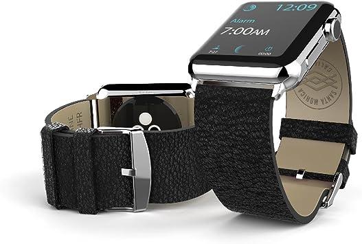 X-Doria Lux - Correa para Apple Watch de 42 mm, color negro: Amazon.es: Electrónica