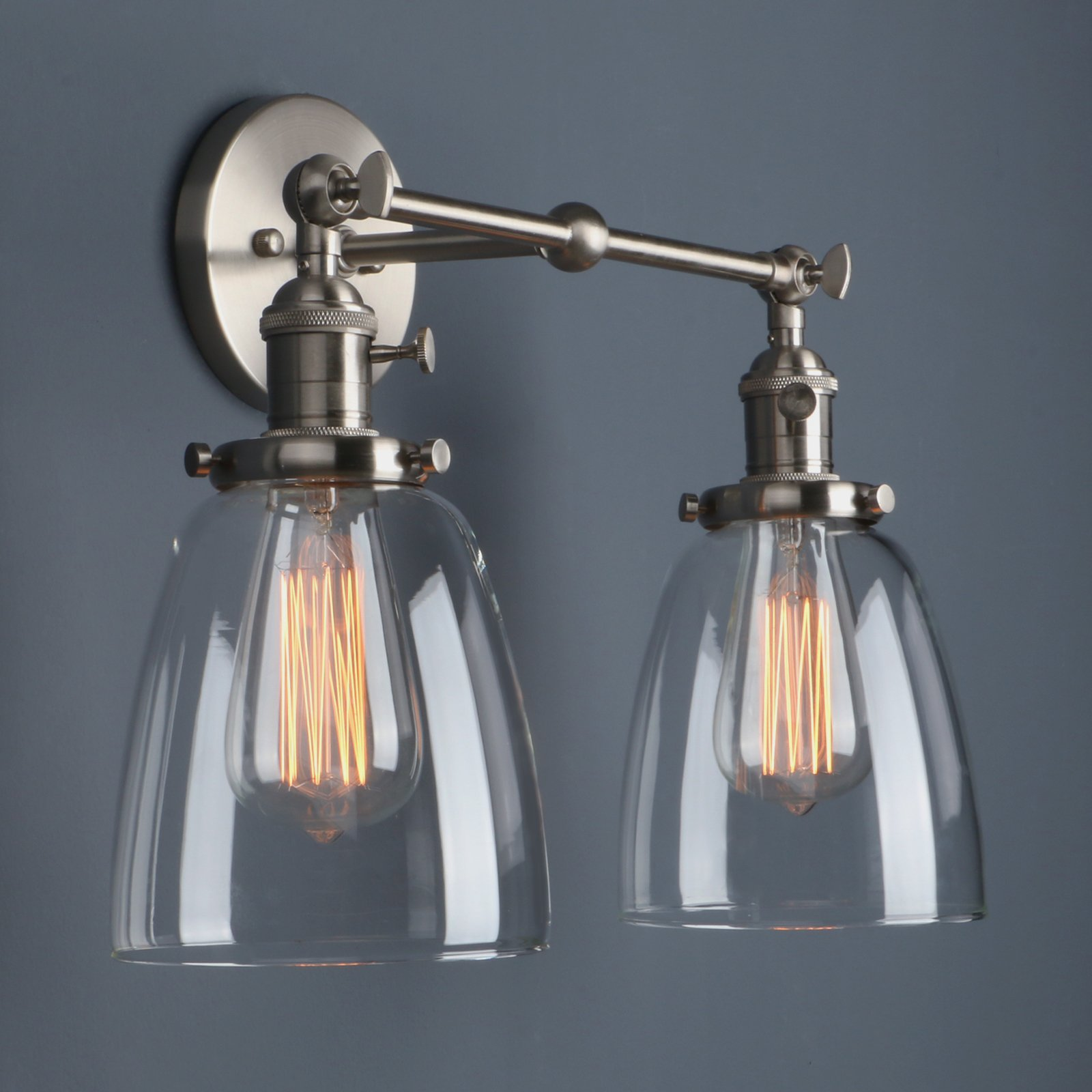 lampara glass edison bathroom reading item vintage from lighting in industrial wall light loft lamps fixtures home sconce retro lights de lamp pared bedroom