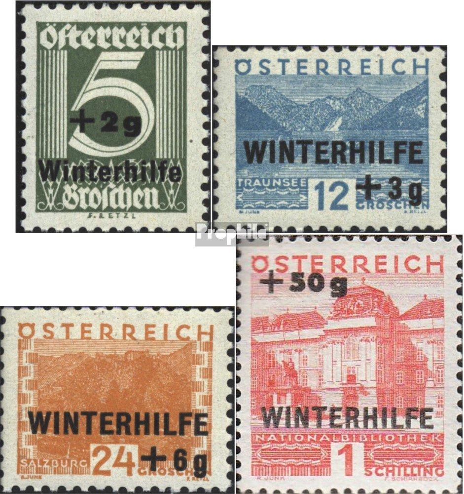 envío rápido en todo el mundo Prophila Collection Collection Collection Austria 563-566 (completa.edición.) 1933 ayuda de invierno (sellos para los coleccionistas)  liquidación hasta el 70%